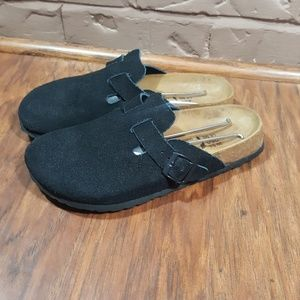 Birkenstock clogs, size 8, like new condition.